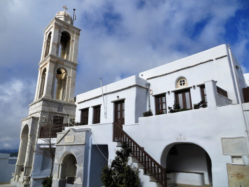 Το περίφημο μοναστήρι στο Κεχροβούνι Παναγιάς, της «Κυρίας των Αγγέλων»