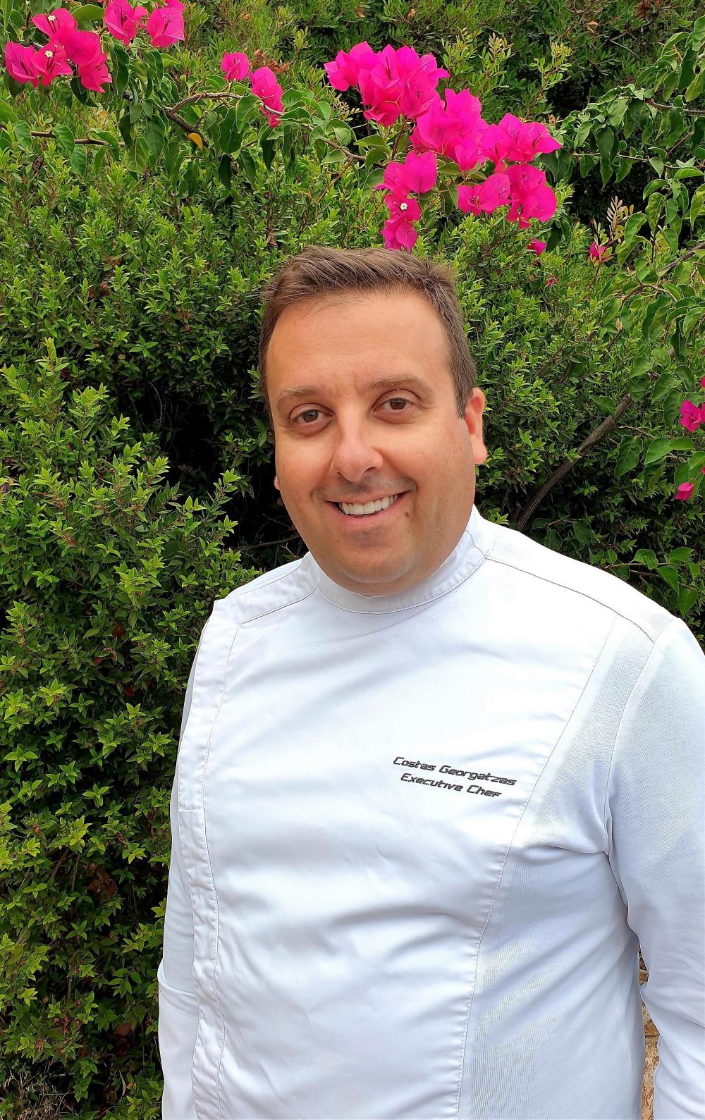 Ο Executive chef Κώστας Γεωργατζάς