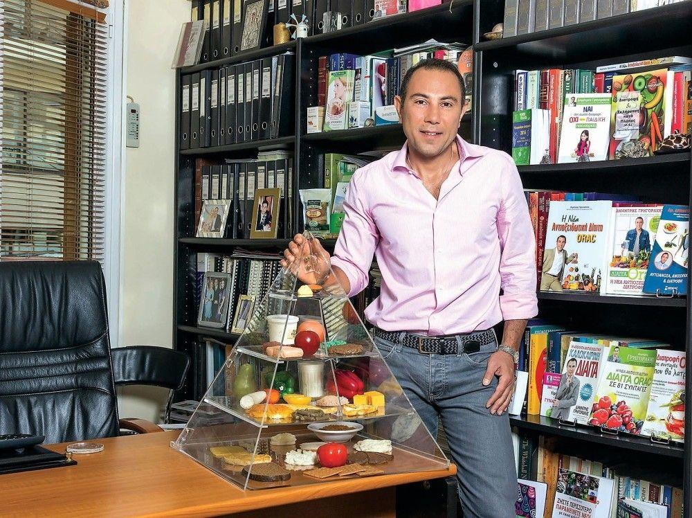 Ο Δημήτρης Γρηγοράκης, Κλινικός Διαιτολόγος- Διατροφολόγος, PhD