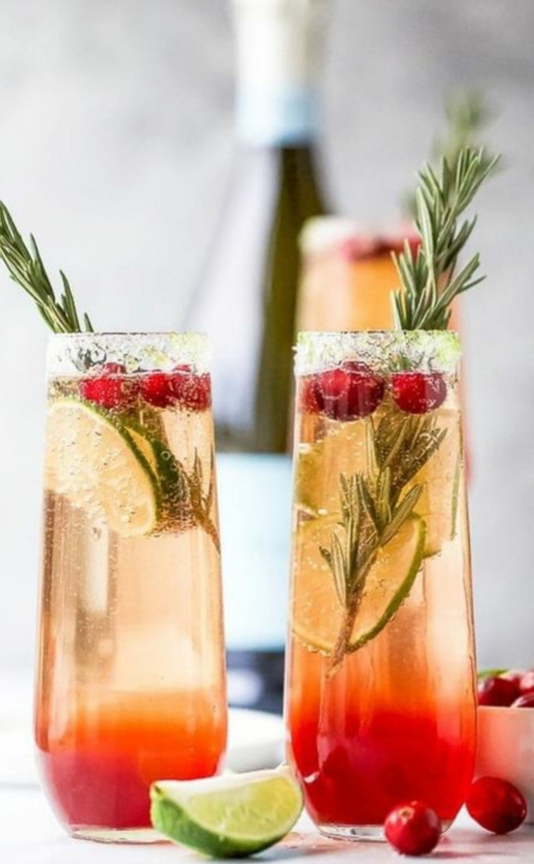 Mimosa cranberry